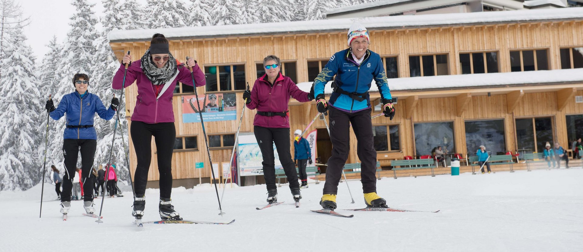 Cross-country skiing schools