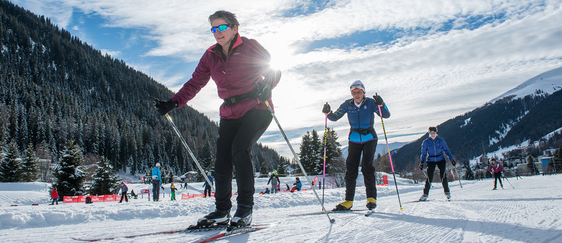 Cross-country skiing events