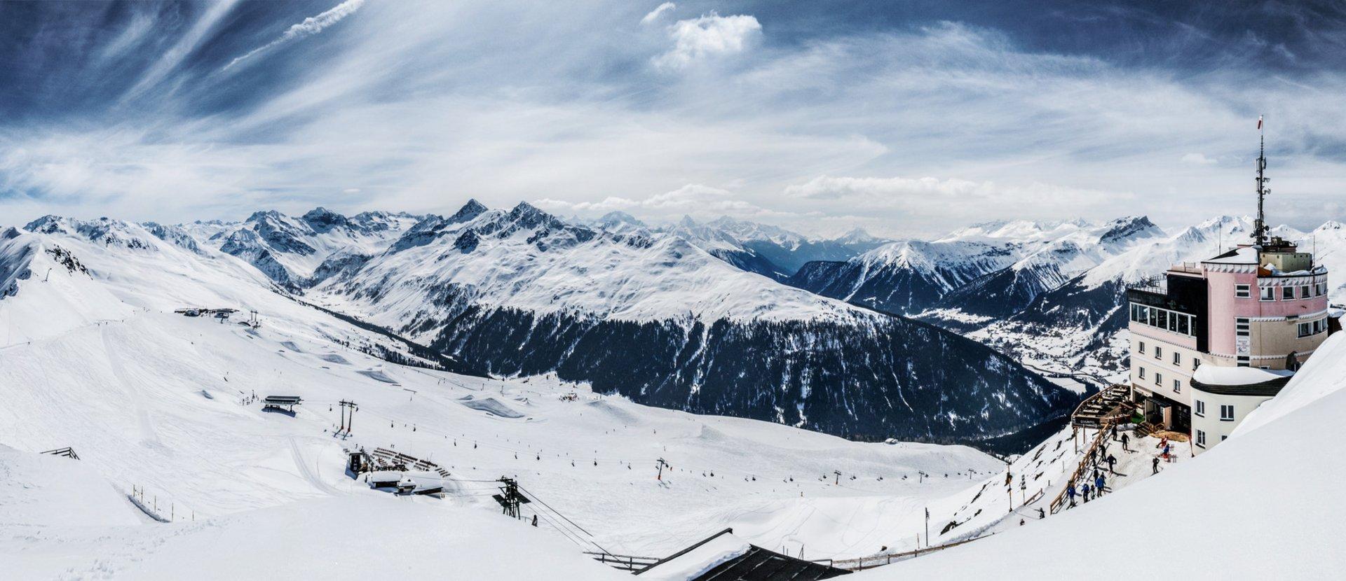 Das Skigebiet Jakobshorn Davos Klosters